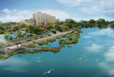 碧桂园九龙湾位于房山区张坊镇十渡风景区周张路龙安