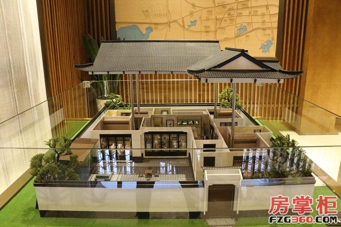 北京房地产网 楼市聚焦 掌柜看盘       项目的中式别墅汲取苏派园林