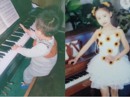 童年钢琴练习谱子