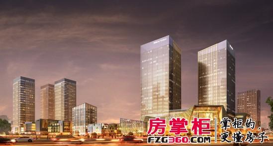 力帆红星国际广场效果图-公寓楼也有春天 品评重庆三大类型公寓产品