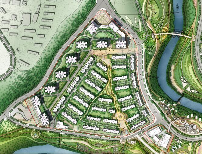 鲁能北渝星城 布局重庆北碚重要项目 打造全能社区的山水公园城