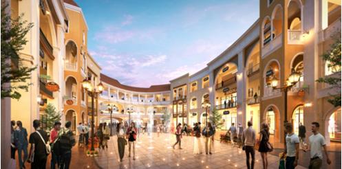 重庆奥特莱斯规划图爆出 助推融创欧麓花园城商业升级