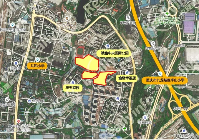 重庆东原&中骏5.682亿元拿下中梁山组团纯居住用地