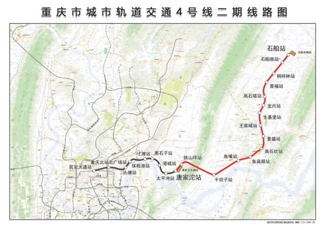 串联鱼复和龙兴两大片区 重庆轨道4号线沿线楼盘大汇总