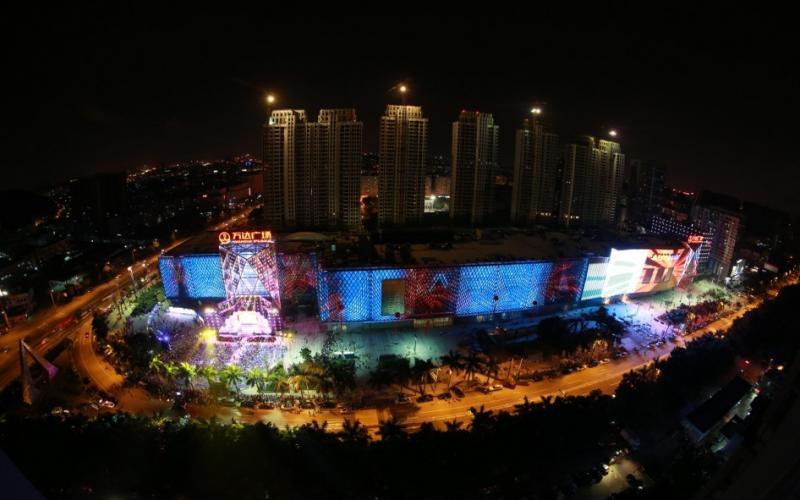 【点亮长安 繁华启幕】长安万达广场亮灯盛典摄影比赛参赛者:陈浩
