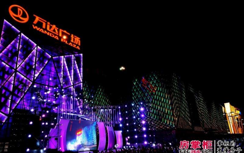 【点亮长安 繁华启幕】长安万达广场亮灯盛典摄影比赛参赛者:付海炼