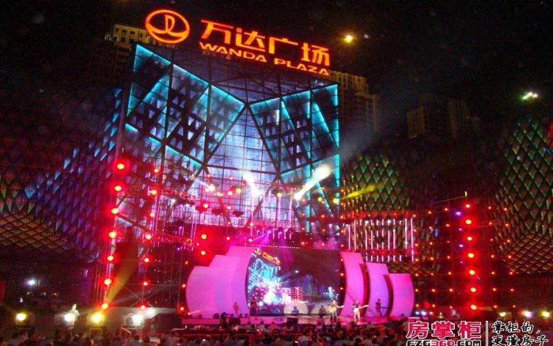 【点亮长安 繁华启幕】长安万达广场亮灯盛典摄影比赛参赛者:钟哈林