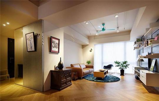 小户型简约风格装修 单纯水泥工法呈现质朴自然感