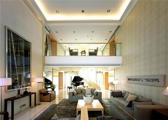 三代同堂奢华居家 现代简约室内风格有品位别墅设计