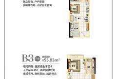 C区-户型图mini小洋房34-1#