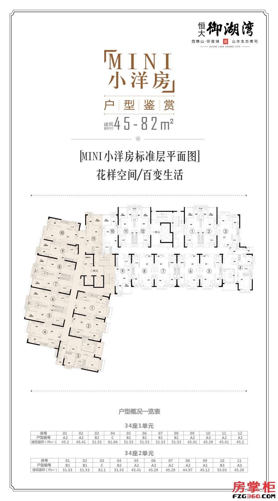 C区-户型图mini小洋房34#规划