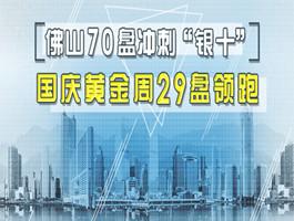 """佛山共70盘冲刺""""银十"""" 国庆黄金周29盘领跑"""