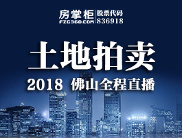 土地拍卖 2018 佛山全程直播