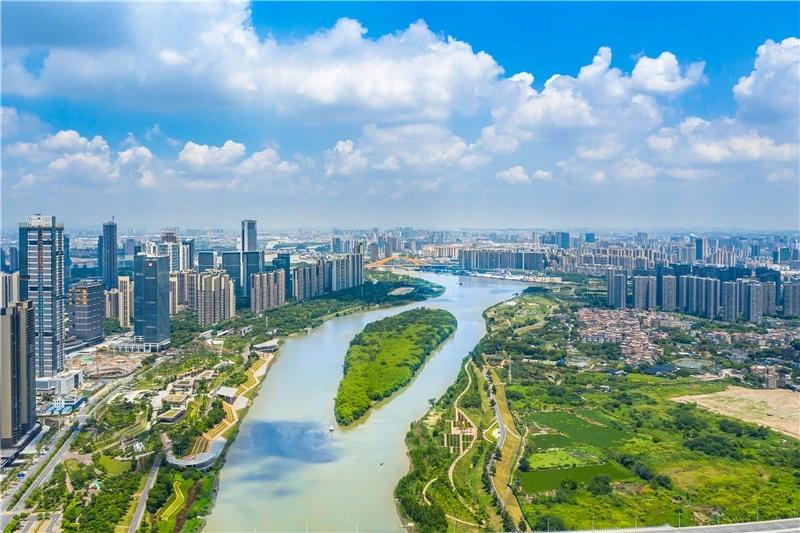 东平河实景