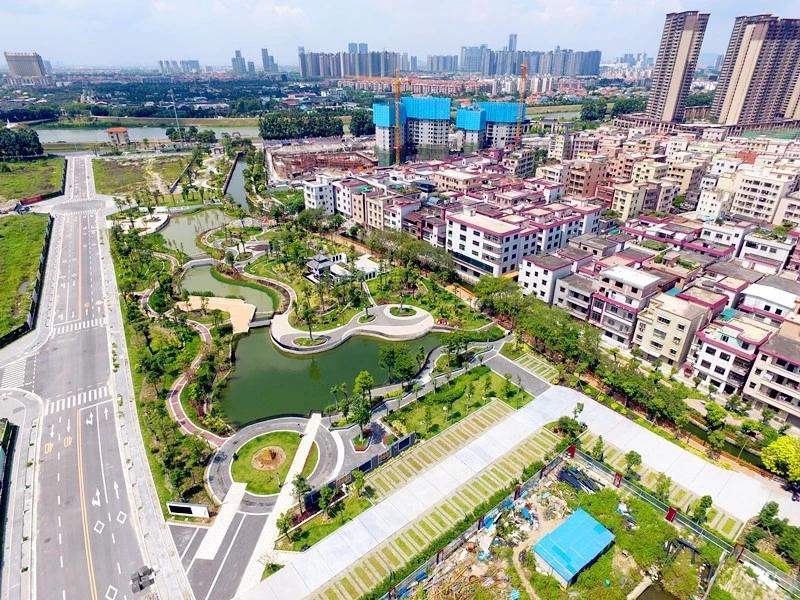 奇槎滨水公园