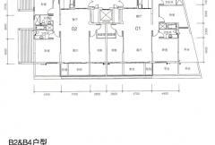 山海湾B2B4户型
