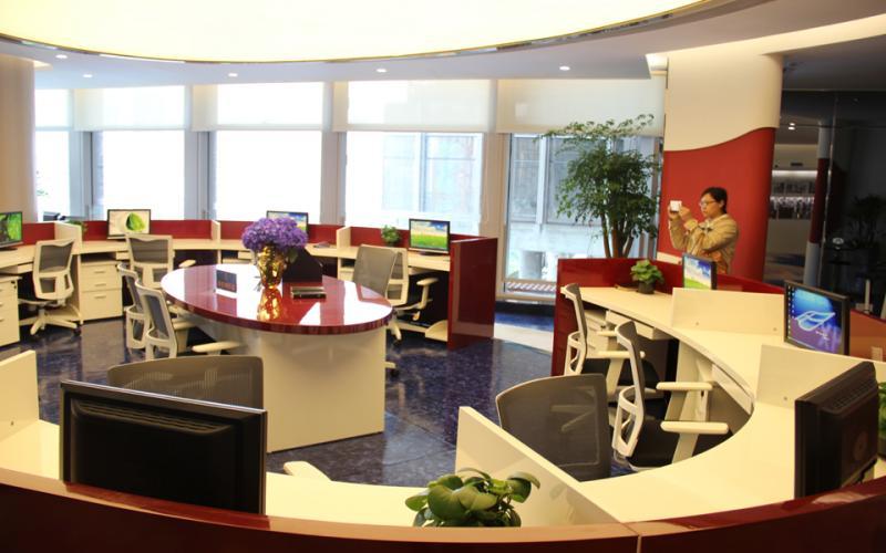 《掌柜视线》第9期珠控国际中心写字楼样板间