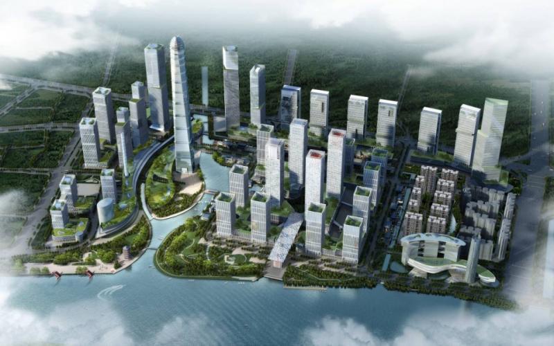 《掌柜视线》第12期:广州国际金融城起步区官方规划出炉(高清效果图)