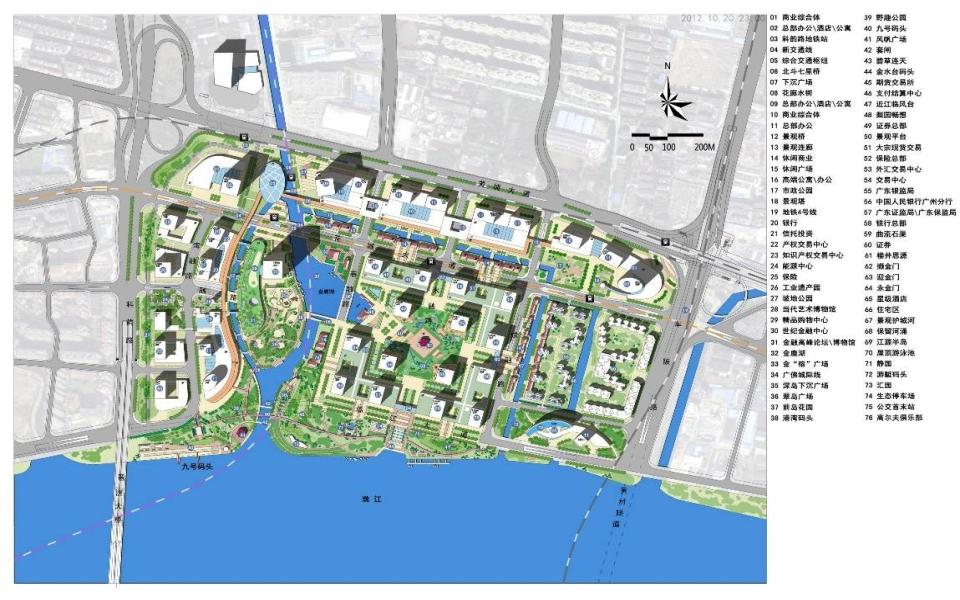 起步区城市设计总平面图