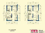 锐丰中心1号楼loft公寓户型图