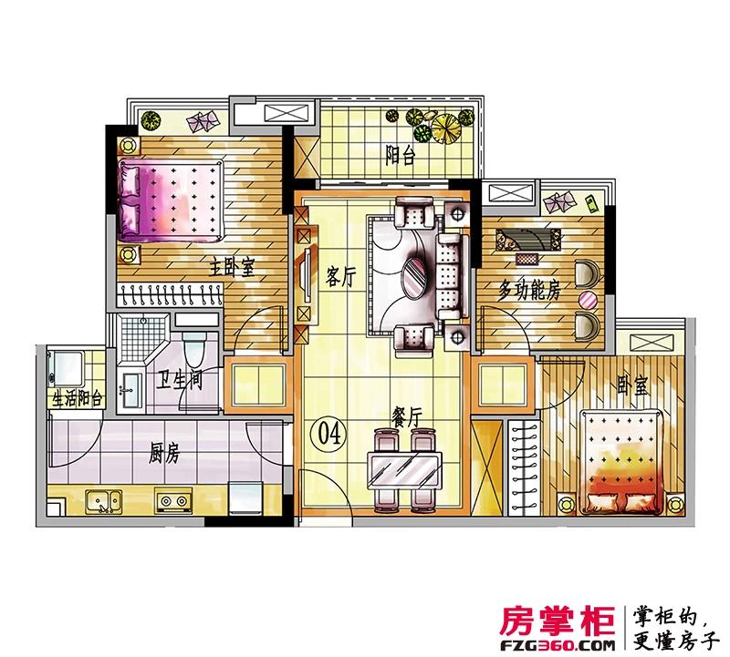 4#楼04户型