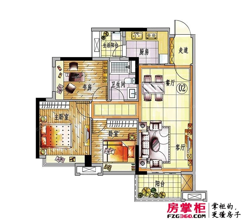 4#楼02户型