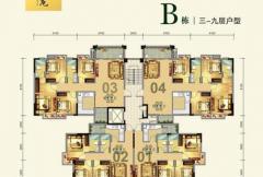 B栋三-九层