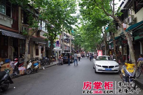 """带""""老上海""""味道的街道"""