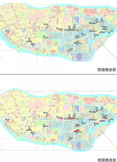 挂18宗规划 海珠留用地变更 将贯穿8条地铁线图片