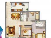 3房2厅带套房