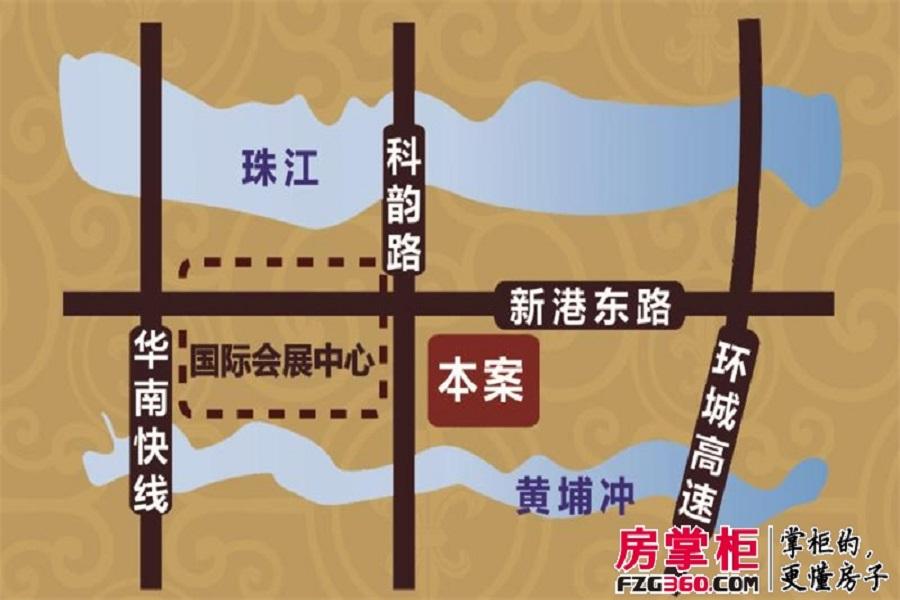 琶洲壹�交通图