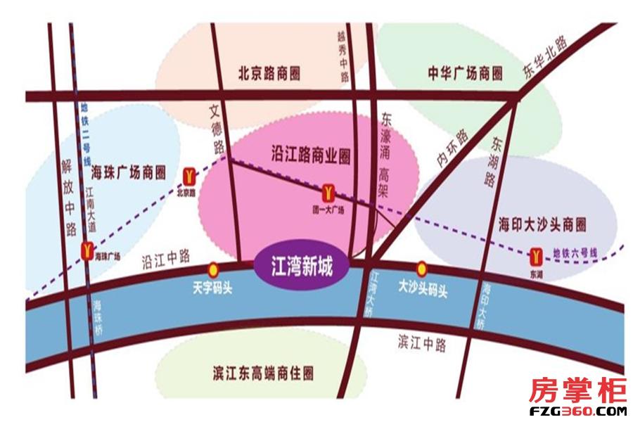 江湾壹号交通图