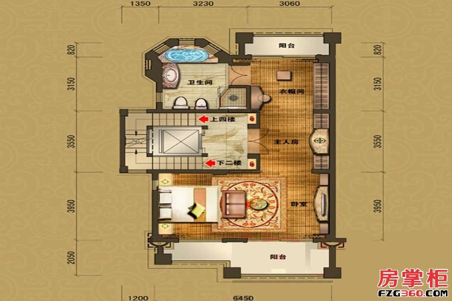 B10栋三层户型图