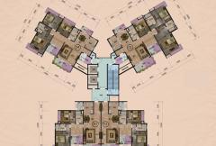 A3栋平面图