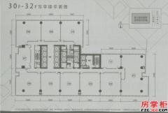 30-32F平面图