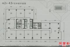 42-43F平面图