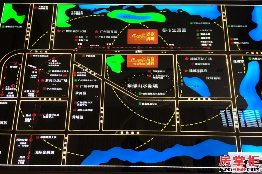 广铝荔富湖畔区位图