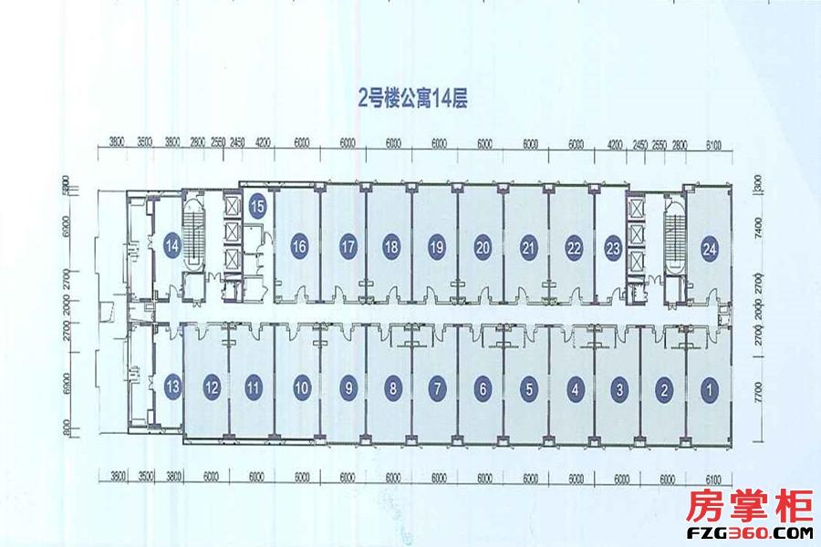 2号楼公寓14层