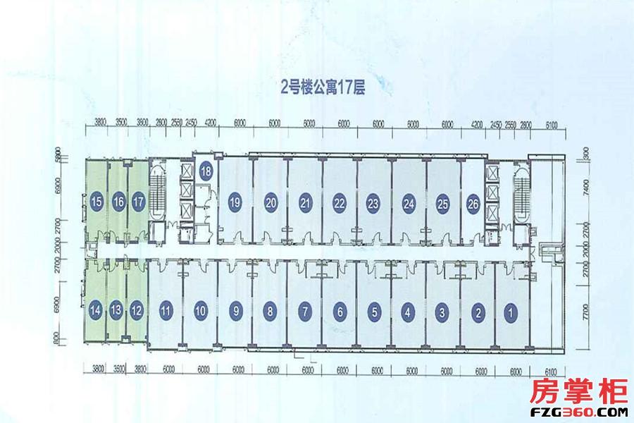 2号楼公寓17层