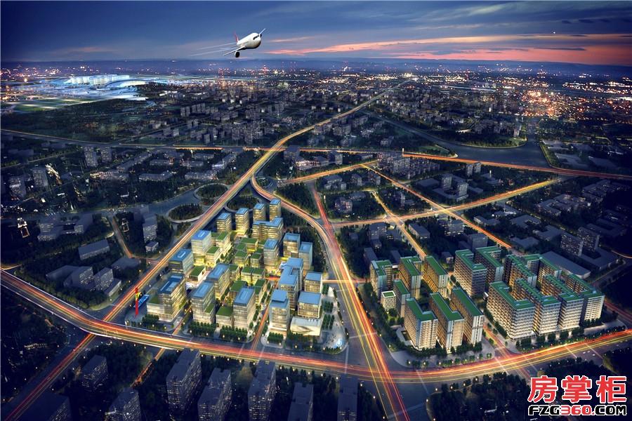 广州国际空港中心效果图