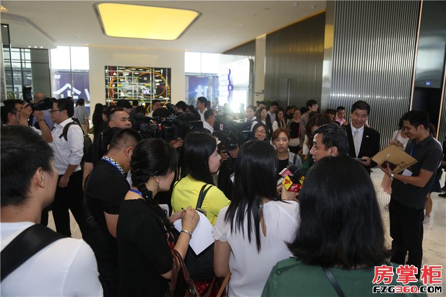 广州国际空港中心楼盘活动