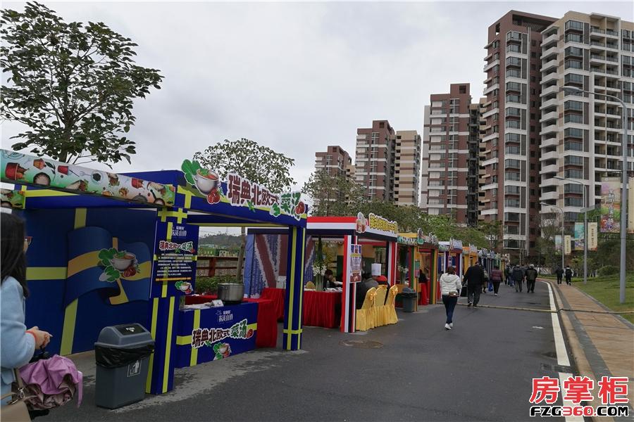 金融街花溪小镇实景图