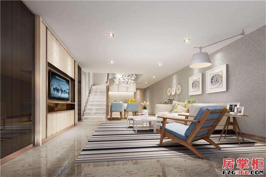 公寓18层北欧风格