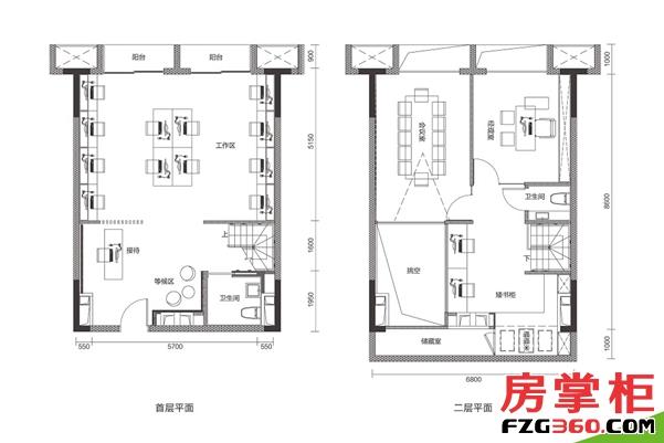 87平两房两厅