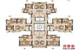 D1栋户型平面图