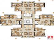 D4栋户型平面图