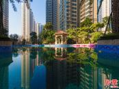 泳池实景图