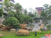 华标峰湖御境园林实景图