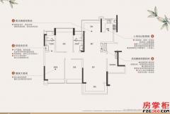 T2建面约115平三房两厅两卫