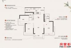 T3建面约115平三房两厅两卫